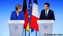 Paris Angela Merkel & Emmanuel Macron