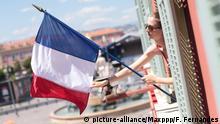 Frankreich Nizza Jahrestag Anschlag