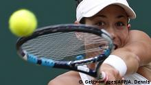 London Tennis Wimbledon Garbine Muguruza
