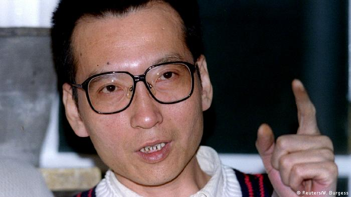 China Liu Xiaobo, Aktivist 1995 (Reuters/W. Burgess)