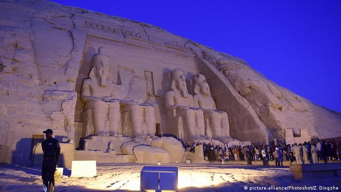 Ägypten Abu Simbel-Tempel (picture-alliance/Photoshot/Z. Dingzhe)
