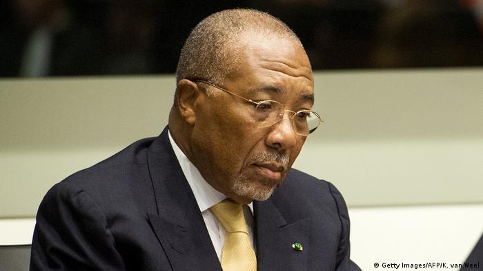 Liberias Ex-Präsident Charles Ghankay Taylor (Getty Images/AFP/K. van Weel)