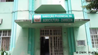 Mosambik Gebäude Direktion für Landwirtschaft in Zambezia