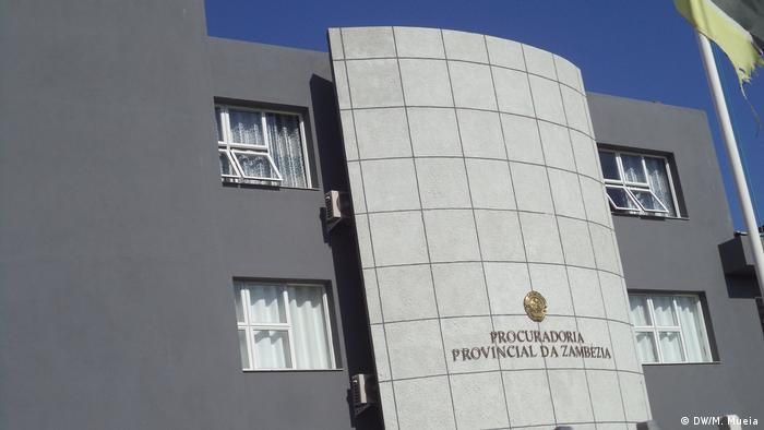 Mosambik Justizgebäude in Zambezia