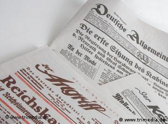 Newspapers from the Nazi period