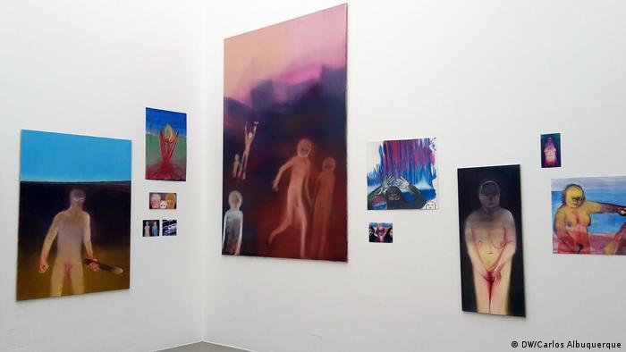 Documenta, Lateinamerika, Arbeiten der schweizerische Künstlerin Miriam Cahn (DW/Carlos Albuquerque)