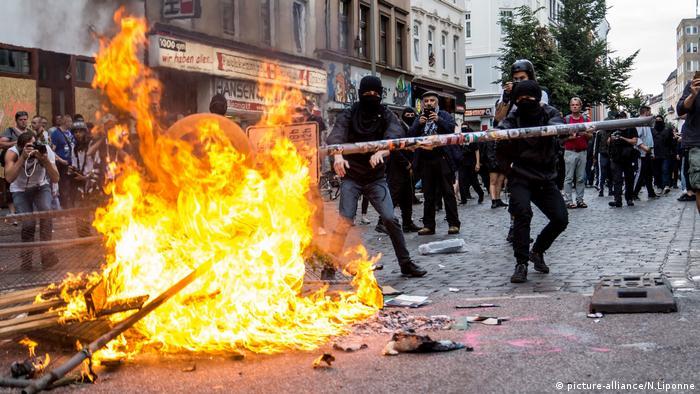 G20 zirvesi sırasında düzenlenen protesto eylemlerinde olaylar çıkmıştı