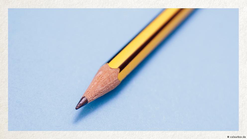 Deutschkurse | Wortschatz | WBS_Foto_Bleistift
