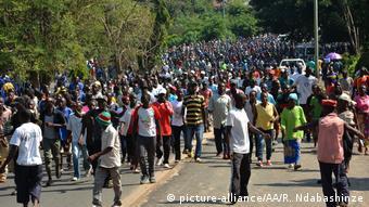 Burundi Proteste