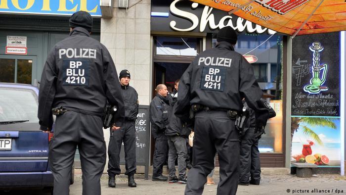 Полицейская облава в Берлине
