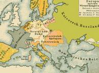 Mapa De Europa. Mapa de Europa tras el