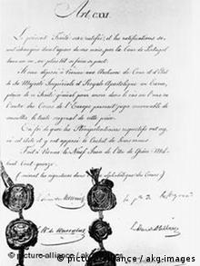 Заключительный акт Венского конгресса. 9 июня 1815 года