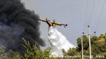 H ζήτηση για πυροσβεστικά αεροσκάφη είναι πολύ υψηλή στην Ιταλία