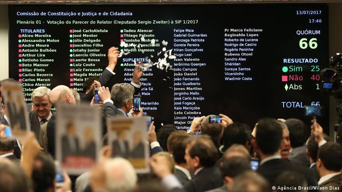 Brasilien Abgeordnetenhaus (Agência Brasil/Wilson Dias)