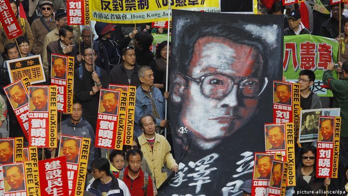 Protestas por la liberación de Liu Xiabo en 2010