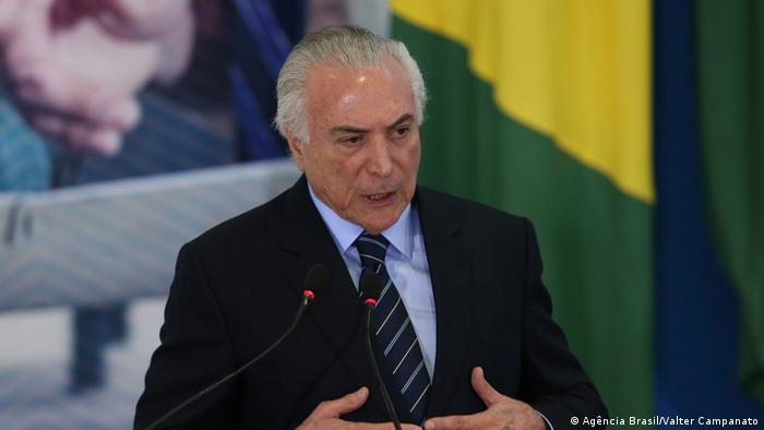 Brasilien Michel Temer (Agência Brasil/Valter Campanato)