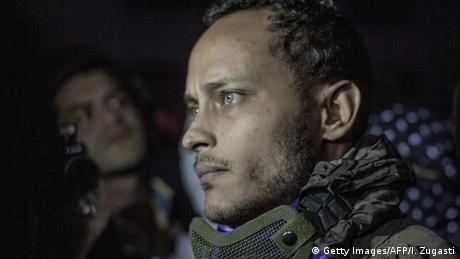 Oscar Perez, Maduro's enemy number one, was found and killed by police in the Caracas neighborhood of El Junquito. (Getty Images/AFP/I. Zugasti)