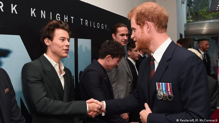 Premiere des Films Dunkirk in London mit Prinz Harry und Harry Styles (Reuters/E.M. McCormack)
