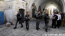 Israel Tempelberg Anschlag in Jerusalem