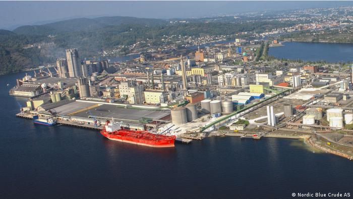 Industriepark Heroya in Norwegen