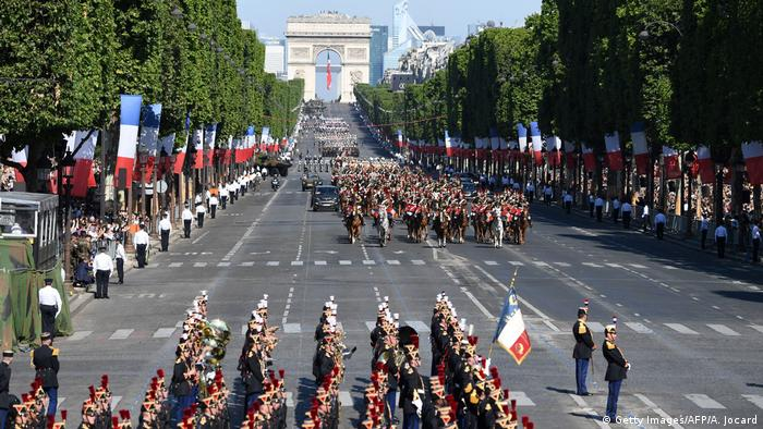 Frankreich Nationalfeiertag in Paris (Getty Images/AFP/A. Jocard)