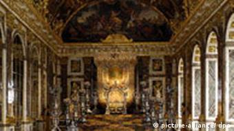 Versailles Hall of Mirrors interior
