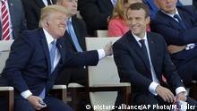 Frankreich Nationalfeiertag in Paris | Trump & Macron