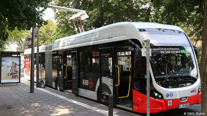Elektrobus in Köln