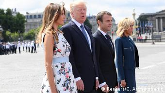 The Trumps and Macrons