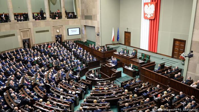 Polen Parlament (Getty Images/AFP/J. Skarzynski)