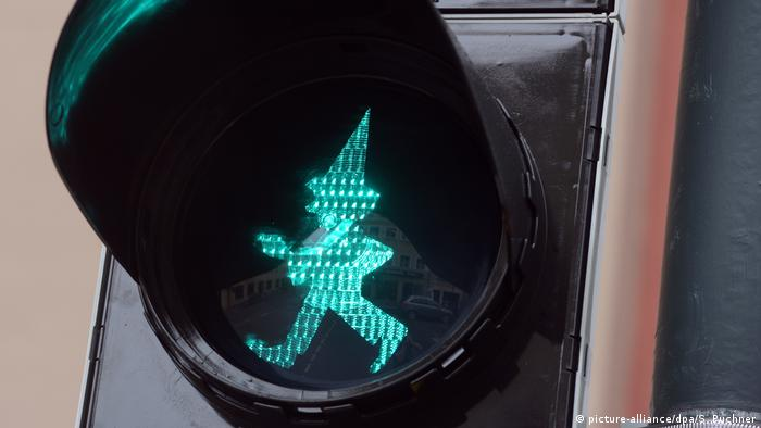 The Kasper traffic light (picture-alliance/dpa/S. Puchner)