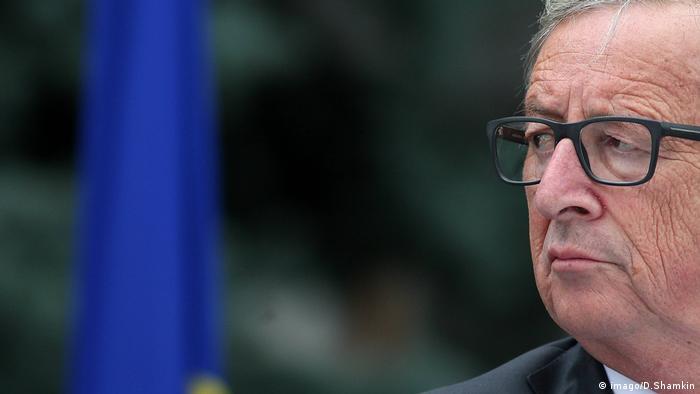 Jean-Claude Juncker in Kiev (imago/D.Shamkin)