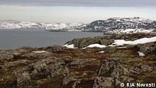 The austere coast of the Teriberskaya Bay of the Barents Sea, in the Russian northwest. RIA Novosti