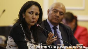 Nadine Heredia (Picture alliance/Zumapress/A. Chero)