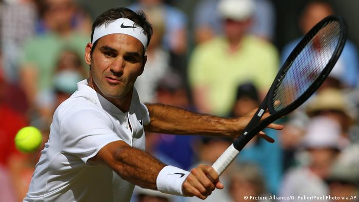 England Wimbledon Roger Federer (Picture Alliance/G. Fuller/Pool Photo via AP)