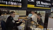USA Miami Flughafen Einreisekontrolle