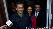 Peru Ex-Präsident Ollanta Humala kommt in U-Haft