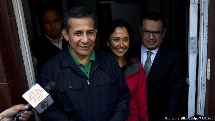 Peru Ex-Präsident Ollanta Humala kommt in U-Haft (picture-alliance/dpa/AP/R. Abd)