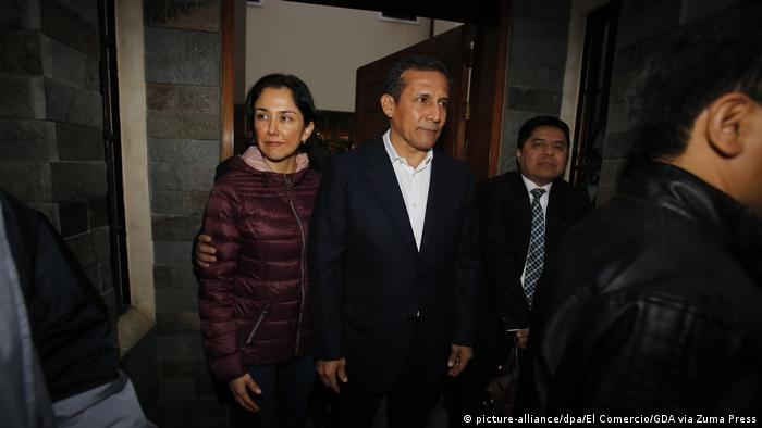 Peru Ex-Präsident Ollanta Humala kommt in U-Haft (picture-alliance/dpa/El Comercio/GDA via Zuma Press)