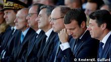 Frankreich Gedenkzeremonie Jahrestag des LKW-Anschlags in Nizza