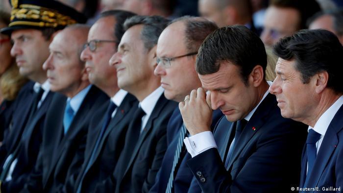 Frankreich Gedenkzeremonie Jahrestag des LKW-Anschlags in Nizza (Reuters/E. Gaillard)