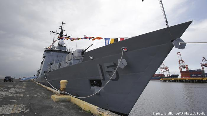 BRP Gregorio Del Pilar (picture-alliance/AP Photo/A. Favila)
