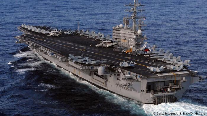 Авианосец ВМС США Рональд Рейган