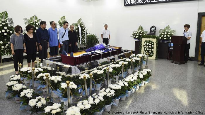 China Bestattung Liu Xiaobo (picture-alliance/AP Photo/Shenyang Municipal Information Office)