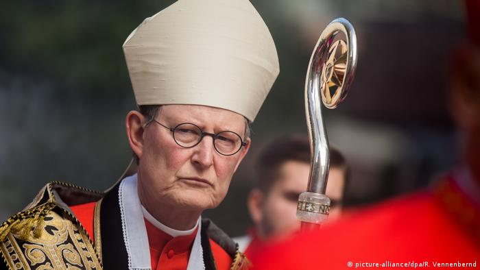 Cologne cardinal Rainer Maria Kardinal Woelki (picture-alliance/dpa/R. Vennenbernd)