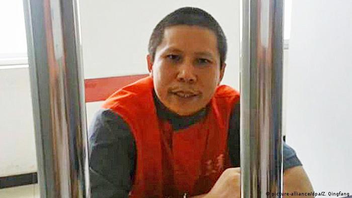 El activista chino Xu Zhiyong, cofundador del movimiento Nuevo Ciudadano que pedía transparencia al Ejecutivo, salió este 15 de julio de prisión tras cumplir cuatro años de condena por alteración del orden público.