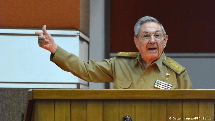 Kuba | Präsident Raul Castro (Getty Images/AFP/J. Beltran)