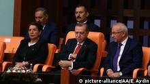 15.07.2017 ANKARA, TURKEY - JULY 15: Foreign diplomats attend the General Assembly of the Parliament on the occasion of Democracy and National Unity Day in Ankara, Turkey on July 15, 2017. Evrim Aydin / Anadolu Agency   Keine Weitergabe an Wiederverkäufer.