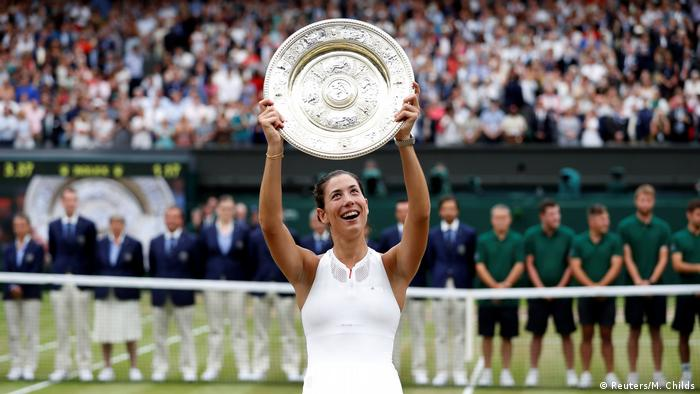 Tennis Wimbledon Finale Damen Muguruza (Reuters/M. Childs)