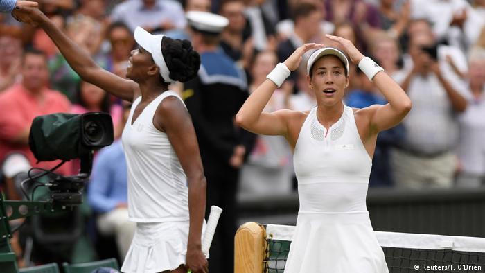 Tennis Wimbledon Finale Damen Muguruza